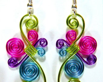 Spiral Bust Hypo Allergenic Earrings