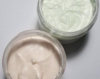 Fierce Type, Eucalyptus Mint Body Butter 4oz sized jar 2.5oz net wt, Skin Care, Smooth, Creamy