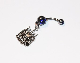 Happy Birthday, Belly Ring, Cake Jewelry, Belly Button Rings, Navel, Belly Piercing, Birthday Gift
