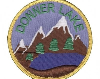 Donner Lake California Patch (Iron on)