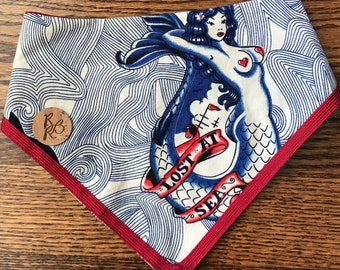 Lost at sea bandana