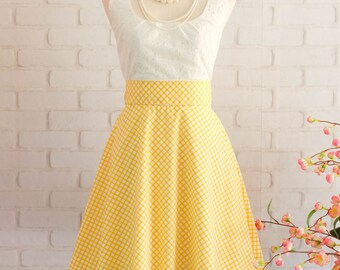 Yellow party dress vintage prom dress yellow bridesmaid dress short bridesmaid dress country prom dress cheap party prom dress