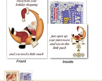 PRINT YOUR OWN Done Shopping Popcorn Card