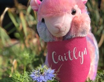 Llamacorn Stuffed Animal, llama birthday, Llama, unicorn, personalized stuffed animal, personalized gift,llama gift, llama party,