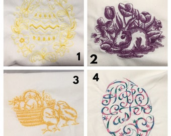 Easter Dishtowels Set of 3 Your Choice