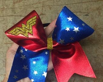 Wonder woman cheer bow