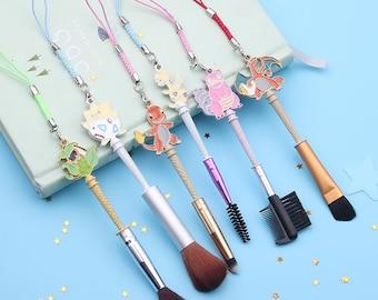 6Pcs pokemon GO inpired makeup brushes Set (style1)