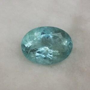 Aquamarine Gemstone- 18.80 Carats- Natural Cut Aquamarine Oval Shape