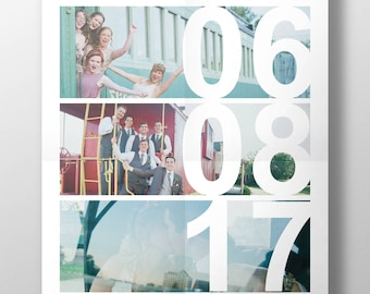 Downloadable Anniversary Date Collage