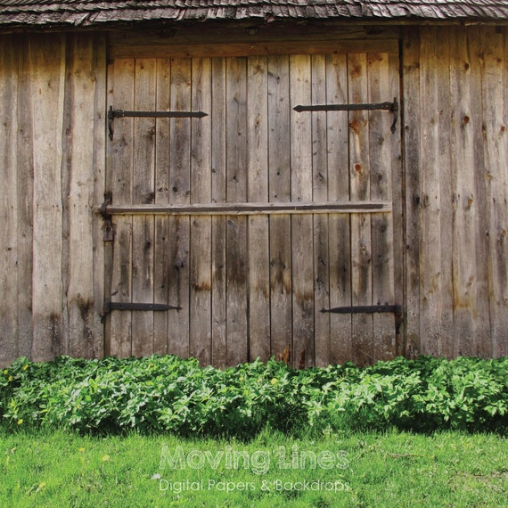 Barn Door Backdrop Wood Gate Rural Newborn Photography