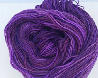 Hand Dyed Superwash Merino/Nylon Yarn