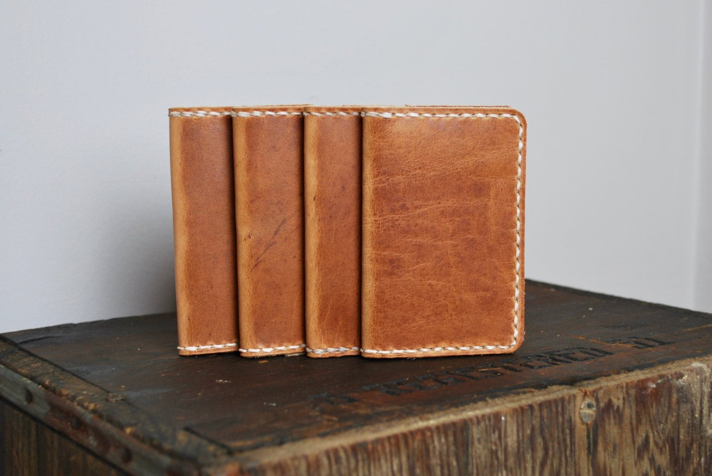 Irish Guinness Brown Tan Leather Wallet Wings 1759