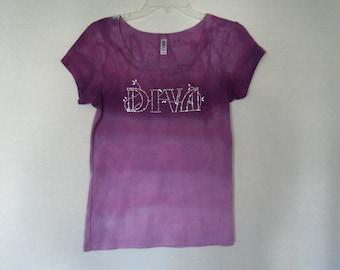 Girls T-shirt, size large, OOAK