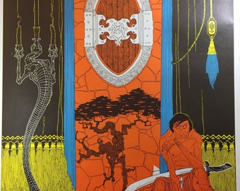 Psychedelic Poster/ The Guard by Wallace Smith