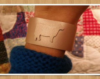 Rosey Pink Show Cow Cuff