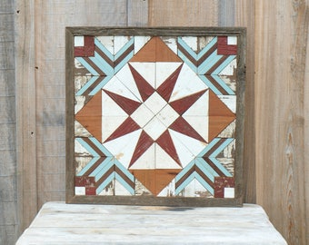 barn quilt,  rustic quilt decor, wood wall art