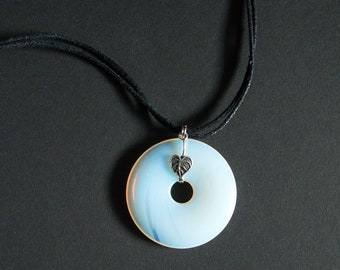 Moonstone necklace.