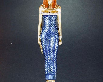 Hand painted Statue of the Goddess Isis
