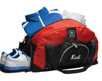 Gym Bag with Shoe Compartment, Gym Bags for Men, Personalized Gym Bag, Duffel Bag, Duffle Bag, Overnight Bag, Travel Bag, Personalized Gifts