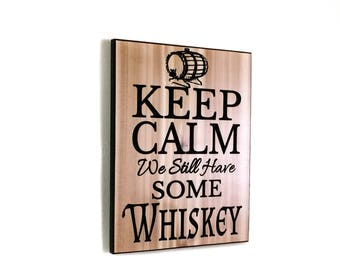 Gift For Him | Gifts For Him | Whiskey Gift For Him | Wood Sign