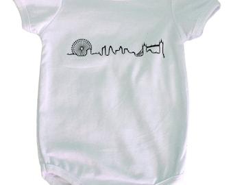 London Skyline BodySuit/T-Shirt