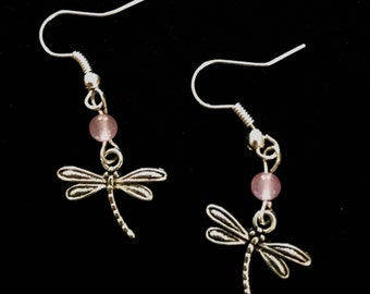 Shape of the Summer -- Dragonfly Earrings