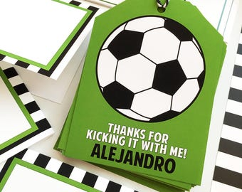 Soccer Party Gift #Tags
