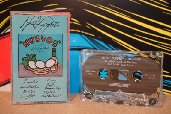 Huevos by Meat Puppets Vintage Cassette Tape