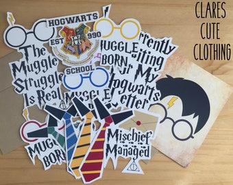 Harry Potter inspired sticker bundles
