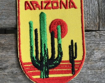 Arizona Vintage Souvenir Travel Patch from Voyager - LAST ONE!