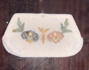 Vintage beaded clutch