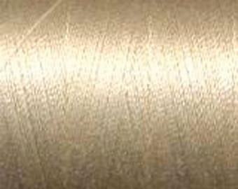 Aurifil Thread  50 wt. cotton Mako thread- Light Sand 1422 yard spool MK50 2000