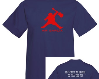 Air Garcia 2.0 - Parody lot T-shirt - Grateful Dead and Company inspired-Ripple-Humor -Shakedown- Tour