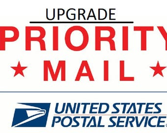 PRIORITY MAIL-UPGRADE to 1-3 Business days