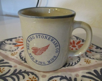 Red Wing Pottery Stoneware Co. Mug Cup MN