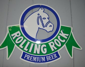 Rolling Rock Beer Sign