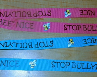 Professional Lanyard Bee Nice Stop Bullying