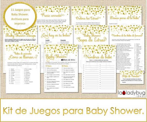 Juegos Para Baby Shower Archivos Pdf Jpeg Para Imprimir 11