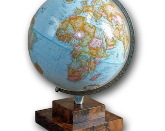 Design Your Own Table Top Globe Blue