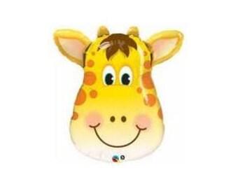 """32"""" Giraffe Balloon/ jungle /safari party/ baby shower/"""