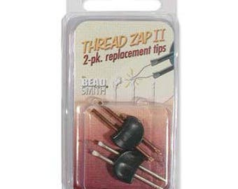 free U postage - Replacement Tip for Thread ZAP II Tool Pack of 2