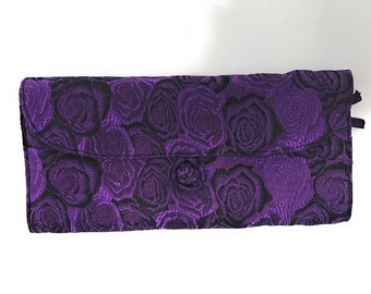 HiyaHiya Circular Needle Case, Purple Roses