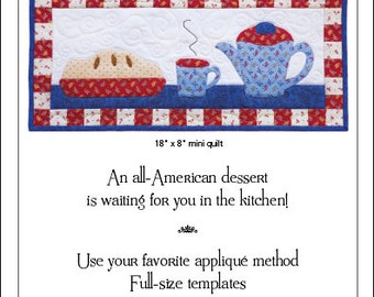 Pie and Coffee Wall Quilt Pattern