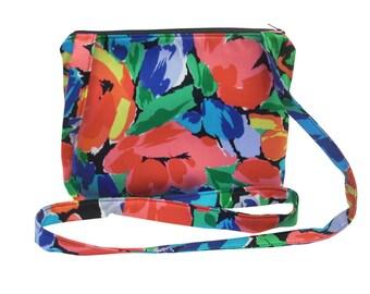 Small Cross Body Bag/Assorted Prints/ Messenger Bag.
