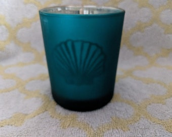 Black Bamboo Soy Votive Candle