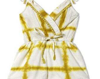 CHANDAMAMA  Deeba Yellow Jumpsuit