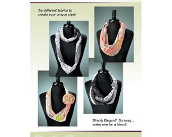Endless Options Infinity Scarf Kit - Simply Elegant and oh so easy to make one for a friend!
