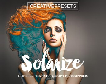 50 Solarize Lightroom Presets - The Sabbatier Effect - Creative Presets for Photographers
