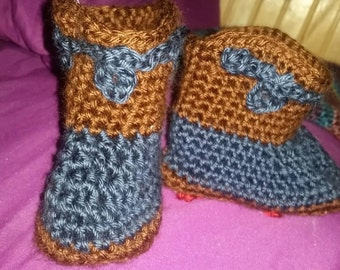 Cowboy Booties 6-12 months