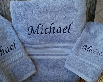 Bath Towel Set. A perfect gift for weddings, housewarmings, anniversaries & birthdays.